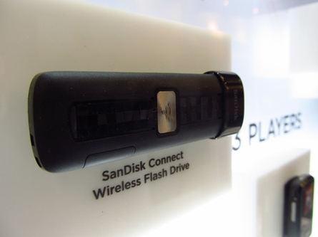 SanDisk boosts wireless memory with 64GB Connect drive